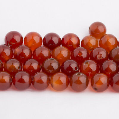 Carnelian/Carnelian - Balls 6mm/Drilled through (1, 5 or 10 Pcs)