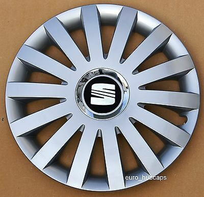 """New 14"""" wheel trims, Hub Caps, Covers to fit Seat Ibiza"""