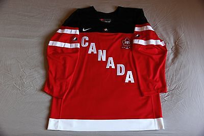 Team Canada Anniversary Home and Away Hockey Jersey Set (2014-2015)