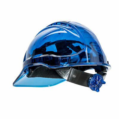 Hard Hat Safety Helmet Vented See Through Adjust Color ANSI Ratchet,Portwest PV