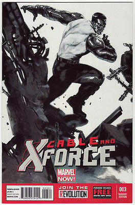 CABLE AND X-FORCE #3 Variant Gabriele Dell Otto 1:50 Marvel