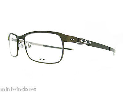 OAKLEY Tincup Eyeglasses OX3184-0252 Powder Pewter 52mm New Authentic