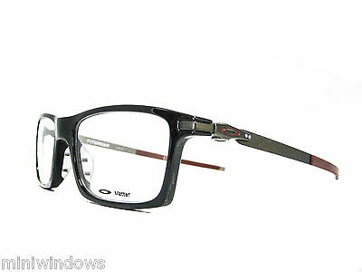 OAKLEY Pitchman Eyeglasses OX8050-0553 Polished Black 53mm New Authentic