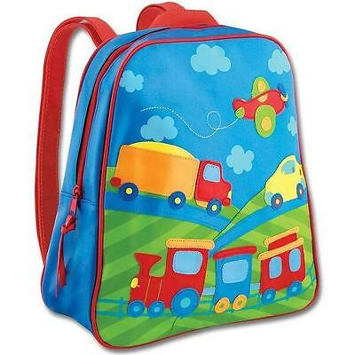 Personalized Stephen Joseph Go Go Train and Trucks Backpack