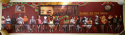 Panic At The Disco A Fever You Can't Sweat Out 2005 Promo Poster RARE Pretty Odd