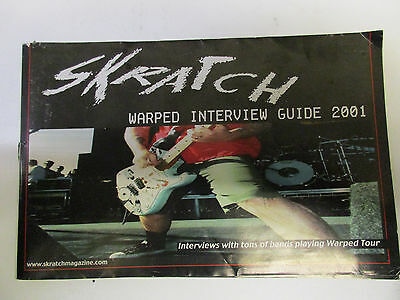 Skratch Warped Interview Guide 2001 punk Fear, Misfits, Rancid, New Found Glory