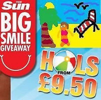 ❤ The SUN HOLIDAYS £9.50 PRIORITY Reference Number + 10 CODE WORDS BOOK ONLINE