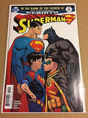 Superman # 10 Regular Cover NM(9.4) 1st meeting of the Super Sons ** HOT BOOK **