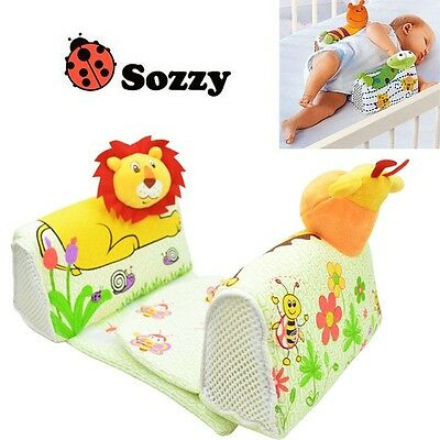 SOZZY Infant Sleep Positioner Newborn Baby Animal Airflow Pillow Safety AntiRoll