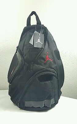 a3048d70aa86 ... new nike air jordan jumpman gym workout book backpack sling laptop ...