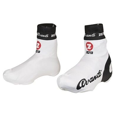 Avanti Team Cycling Shoe Covers - Protector Overshoes - MEDIUM (41-43) in White