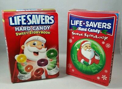 2 LIFE SAVERS SWEET STORYBOOK (8) Hard Candy Rolls 2009 2011. LOOK!
