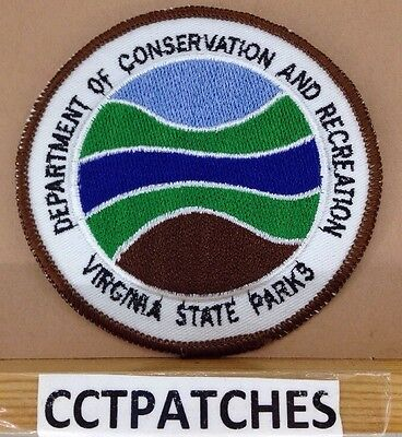 Virginia State Parks Department Of Conservation And Recreation Patch Va