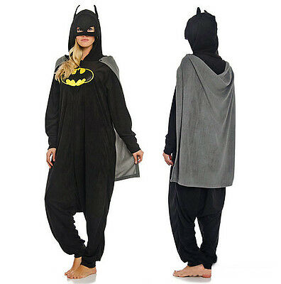 Hot Mavel Batman Bruce Wayne Halloween Adults Pajamas Cosplay Unisex Costume