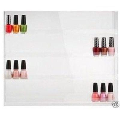 Nail Polish Wall Rack Holds 32 Bottles