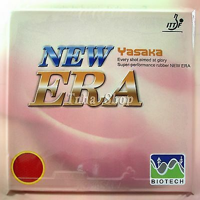 2x Yasaka NEW ERA-40mm NO ITTF BIOTECH Pips-In Rubber 39-41°