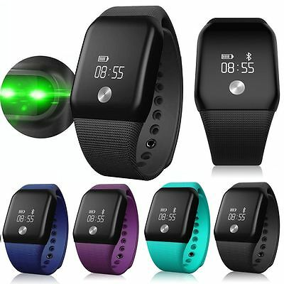 Smart Watch Sport Sleep Tracker Heart Rate Monitor Pedometer for iOS Android AU