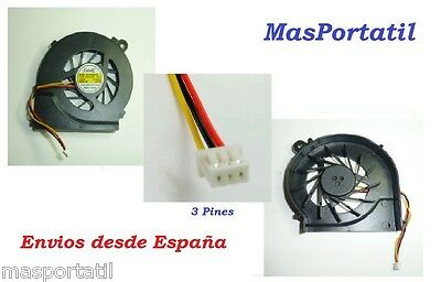 Ventilador Nuevo/fan Hp Pavilion G4, G6, G7(3 Pines)  646578-001 643364-001 Fan2