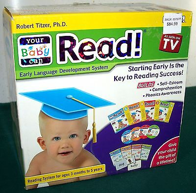 Your Baby Can Read Books 2, 3 & 4 + 4 DVDs & 19 Sliding Word Cards