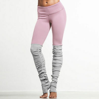 UK Womens Ladies Yoga Fitness Leggings Running Gym Stretch Sports Pants Trousers