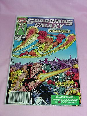 GUARDIANS OF THE GALAXY #4 Sept 1990 Marvel Comic Book
