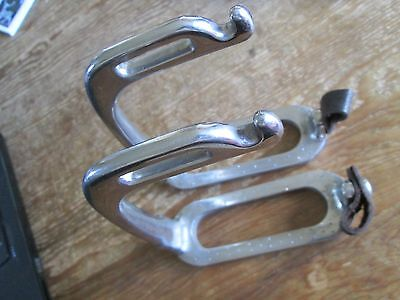 Safety Stirrup Irons Peacock  Stainless Steel  4""