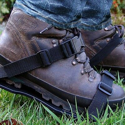 """Greenkey Aerating Lawn Shoes with 2"""" Spikes"""