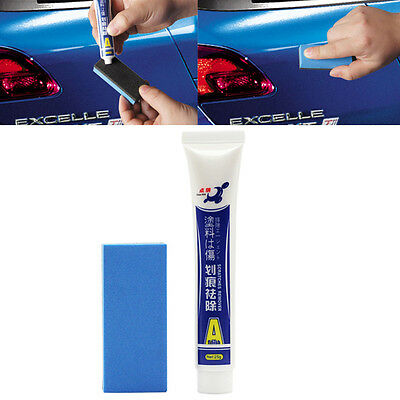 Professional Vehicle Scratching Remover Repair Car Wax Strong Decontamination WS