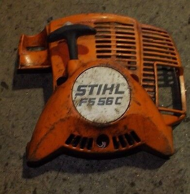 Stihl FS56 C petrol brush cutter / strimmer pull cord assembly