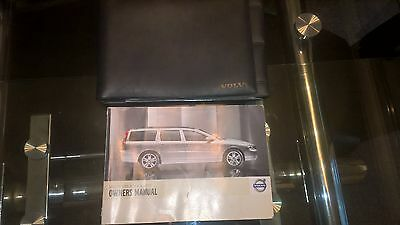 2006 2010 Volvo V70 / v70r / XC70 Owners Handbook/Manual and Wallet
