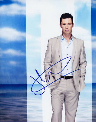 JEFFREY DONOVAN ~ BURN NOTICE ~ SIGNED 10x8 PHOTO COA