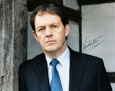 KEVIN WHATELY ~ INSPECTOR LEWIS ~ SIGNED 10x8 PHOTO COA