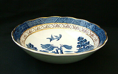 Booths China Real Old Willow set of six dessert bowls