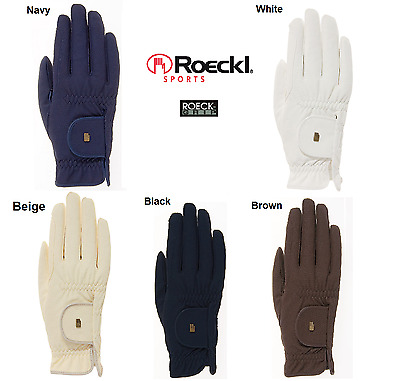 Womens Roeckl Chester Horse Riding Gloves Super Roeck Grip Many Colours & Sizes