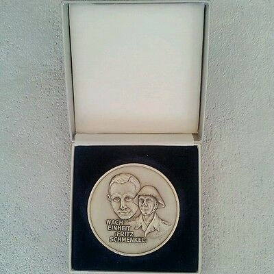 DDR East German secret police Stasi vintage  medal plaque