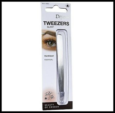 Depend Perfect Eye Tweezers - Slant For Cleaning and Shaping Your Eyebrows