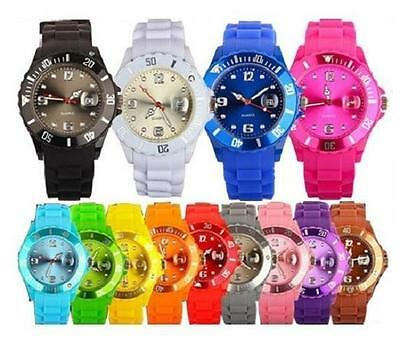 Beautiful Unisex Attractive Sanda Silicone Wrist Watchs Kids/Teens Some with LED