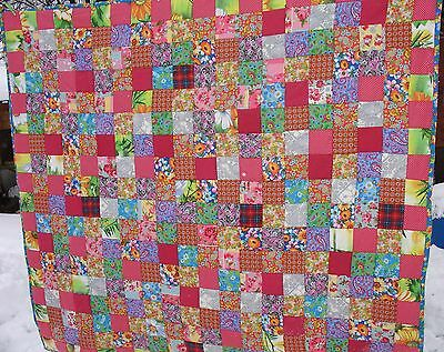 King size quilt Handmade Vintage Quilts Hand made