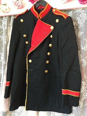 Vintage Wool Marching Band Military Libertine Jacket