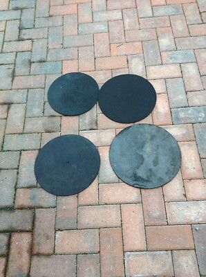 Free P&P. Set of Silencer Pads, Mats, Mutes for Drum Kit. SP13