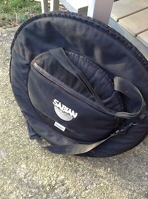 """Free P&P. Deluxe Sabian 20"""" Cymbal Case For Drum Kit. Bag Holder Sack."""