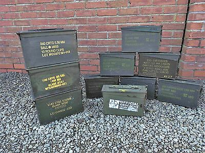 Ultimate Geocache container. The AMMO BOX  ammunition case