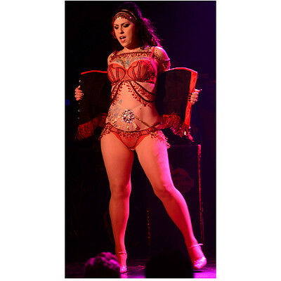 Danielle Colby-Cushing American Pickers on Stage Dancing 8 x 10 Inch Photo