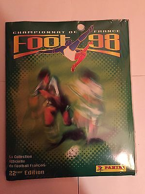 Panini Foot 98 1998 - Album Vide Empty + Set Complet Blister Sealed