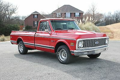 1971 Chevrolet C-10  1971 Chevrolet C10 LWB truck *SOLID/STRAIGHT* ~great driving pickup~ 350/700R4