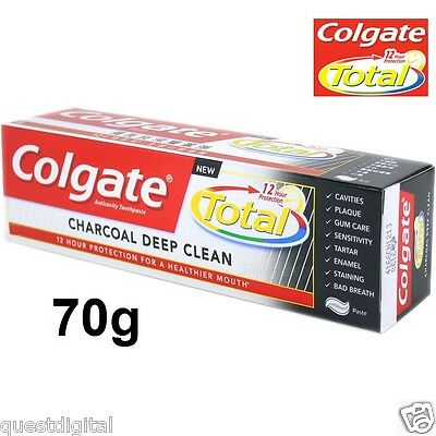 70g Colgate Total Charcoal Toothpaste