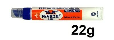Fevicol MR White Glue Adhesive Angular Tip Craft Cloth Cardboard Glue Child Safe
