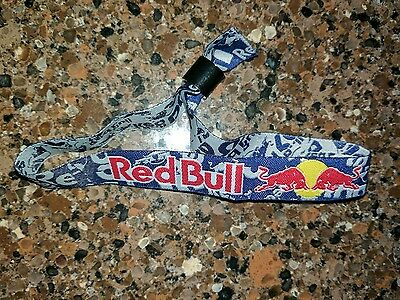 Red Bull Wristband Concert Style