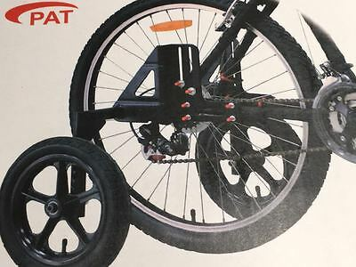 "Adult Stabilisers (Training Wheels) Fits from 20"" 24"" 26"" 27"" & 700c Wheel Bike"