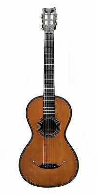 Antique French Romantic period guitar by Francois Roudhloff (c.1825/30)